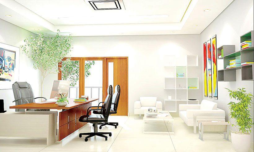 طراحی دکوراسیون دفتر مدیریت