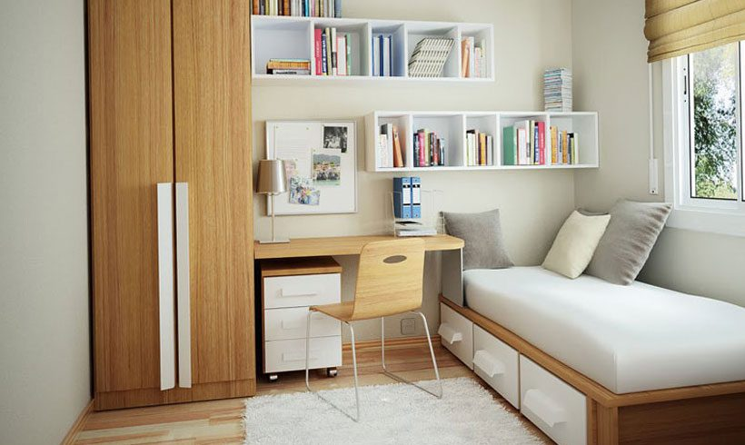 طراحی و چیدمان منزل کوچک