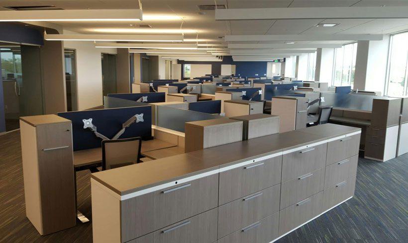 طراحی داخلی دفتر مدیریت