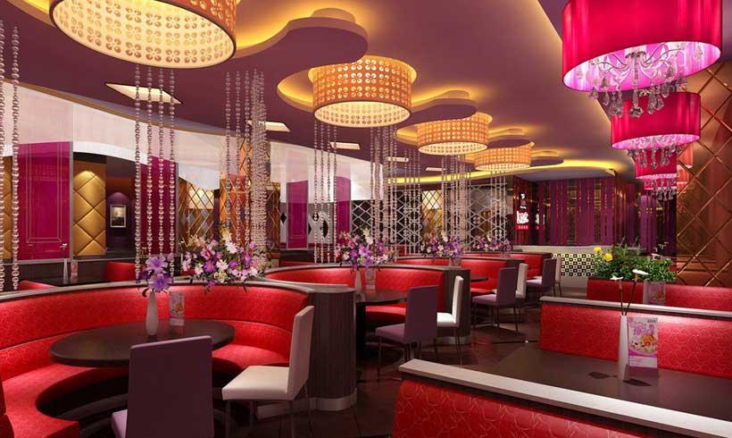رنگ برای طراحی دکوراسیون داخلی رستوران