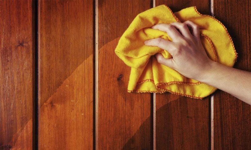 براق کردن وسایل چوبی