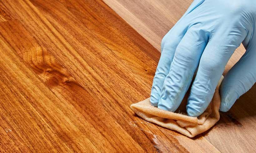 مراقبت از وسایل چوبی تنها با چند ترفند ساده