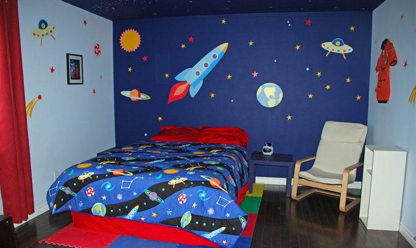 جدیدترین مدل طراحی دکوراسیون اتاق کودک پسرانه