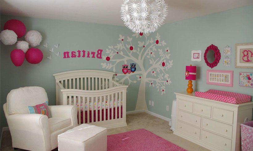 طراحی اتاق دختر بچه