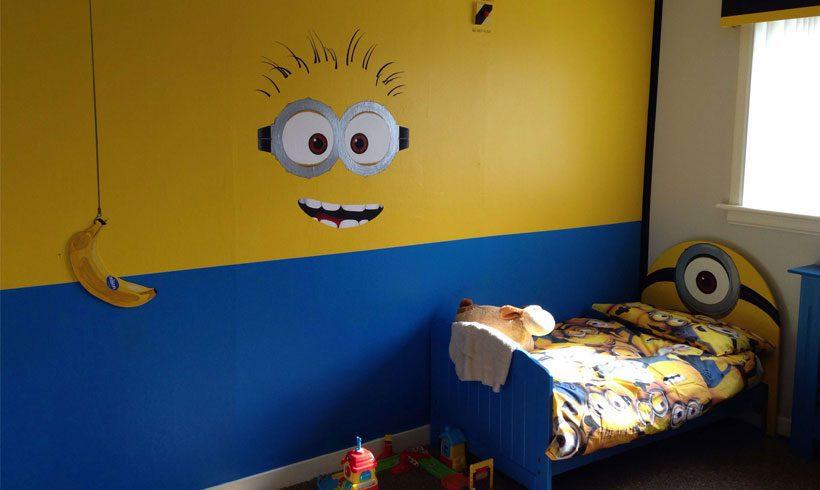 طراحی دکوراسیون اتاق پسر