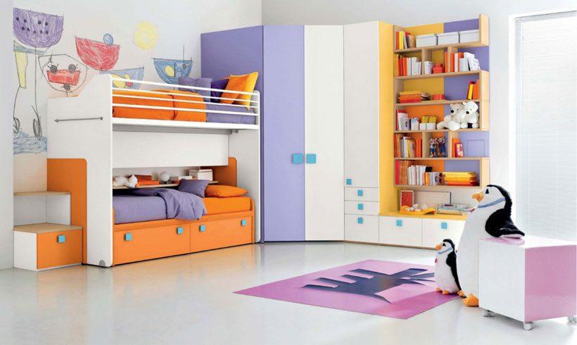 دکوراسیون داخلی اتاق دختر نوجوان