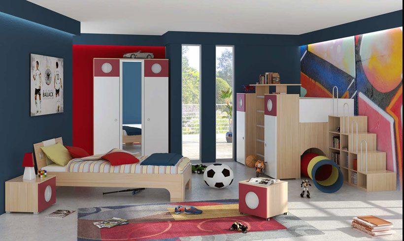 طراحی اتاق کودک پسر