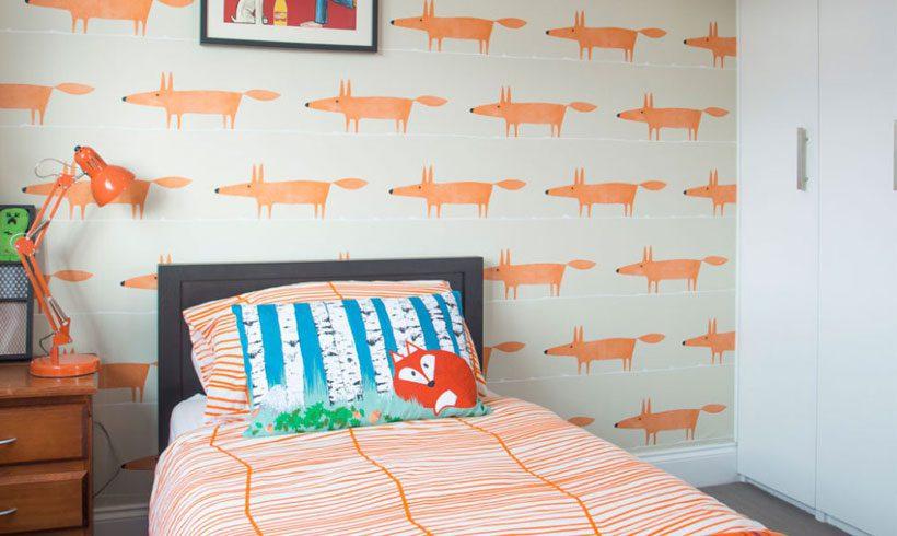 طراحی دیوار اتاق کودک پسر
