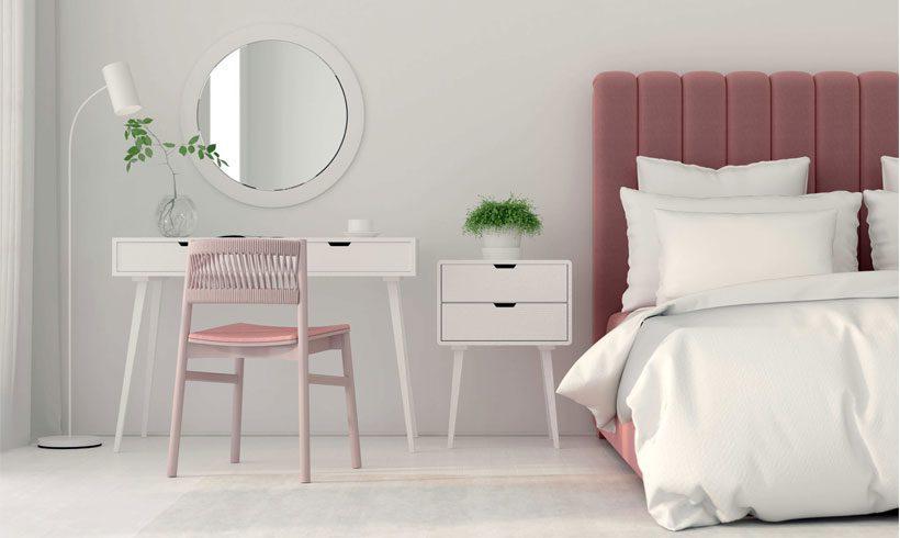 اتاق خواب کوچک ساده