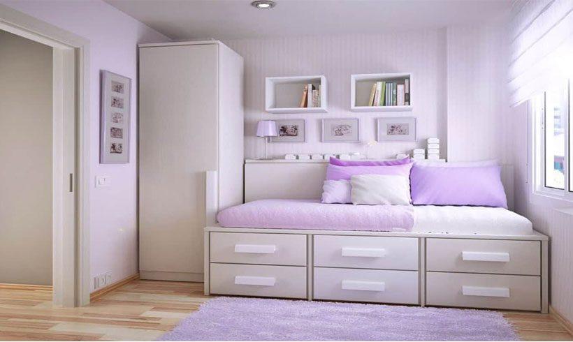 چیدمان داخلی اتاق خواب کوچک
