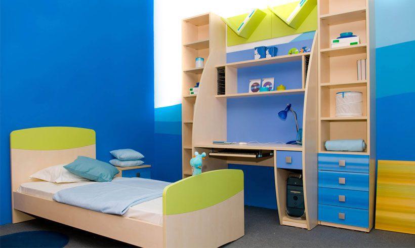 دکوراسیون اتاق خواب کوچک پسرانه