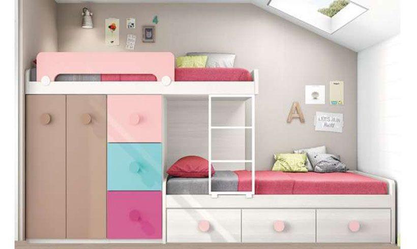 دکوراسیون اتاق خواب کوچک دخترانه نوجوان