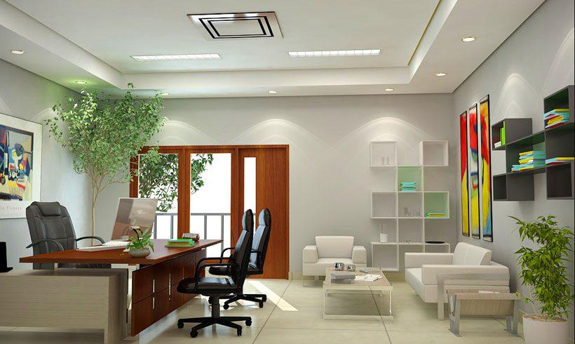 طراحی اتاق کار شیک در منزل