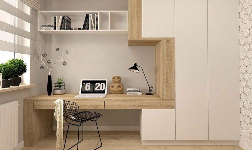 اتاق کار کوچک در منزل