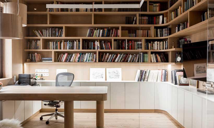 طراحی اتاق شیک کار در منزل