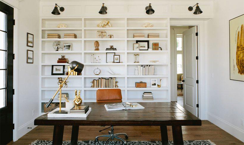 طراحی دکور داخلی اتاق کار در خانه