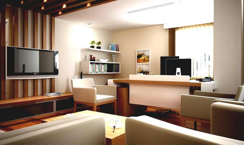 طراحی دکوراسیون داخلی دفتر کار در منزل