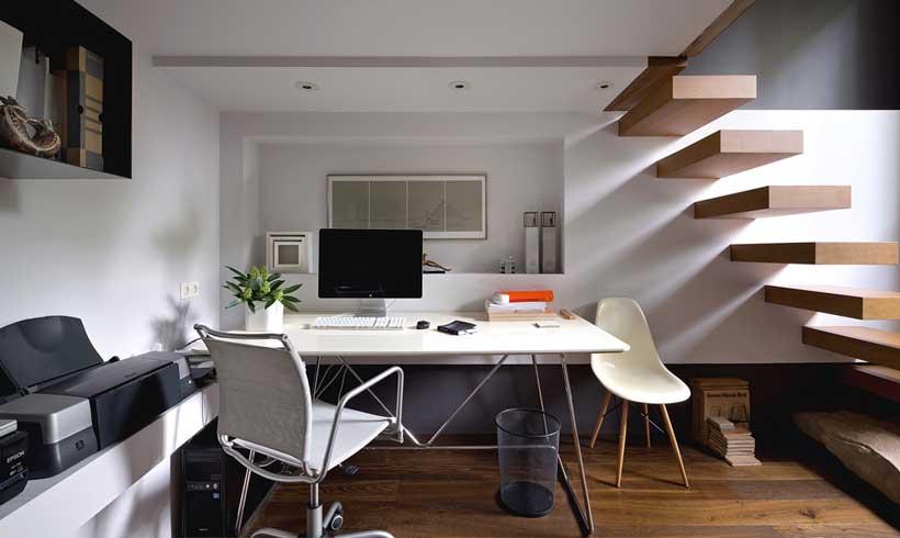 طراحی داخلی اتاق کار در منزل