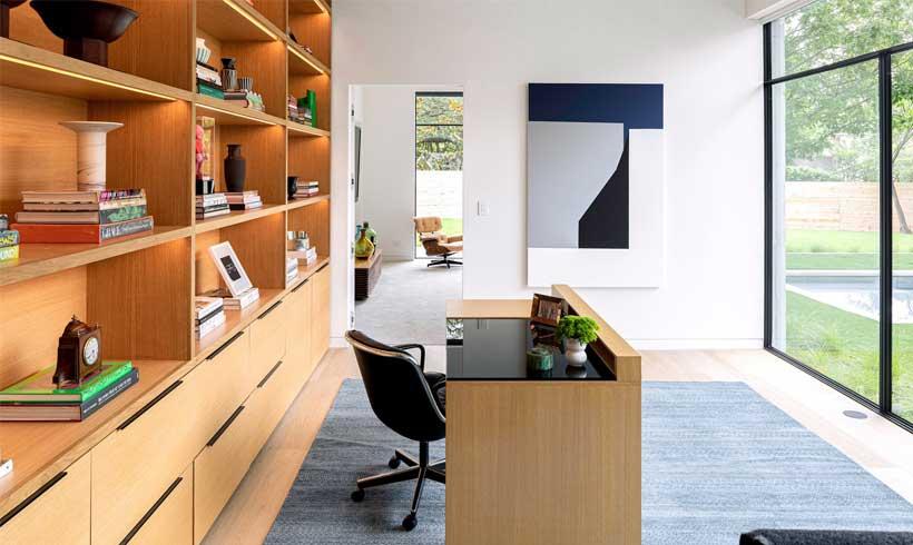 طراحی دفتر کار در منزل