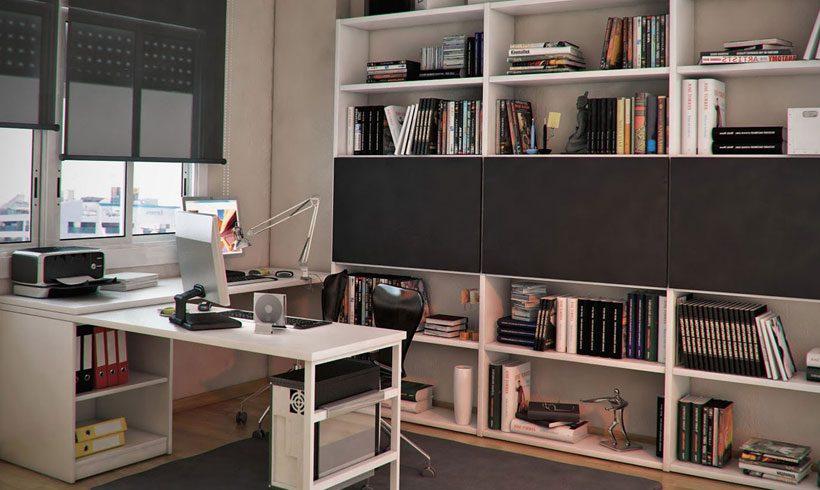 دکوراسیون داخلی محیط کار در خانه