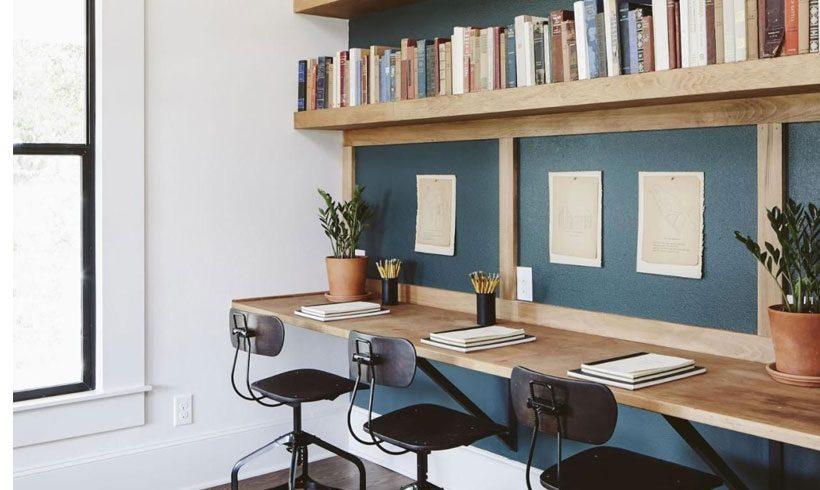 طراحی اتاق کار و مطالعه در خانه