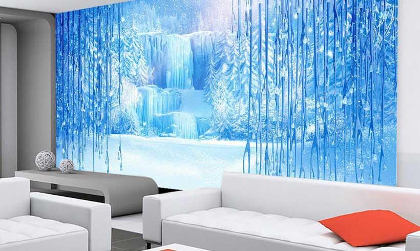 کاغذ دیواری سه بعدی طبیعت