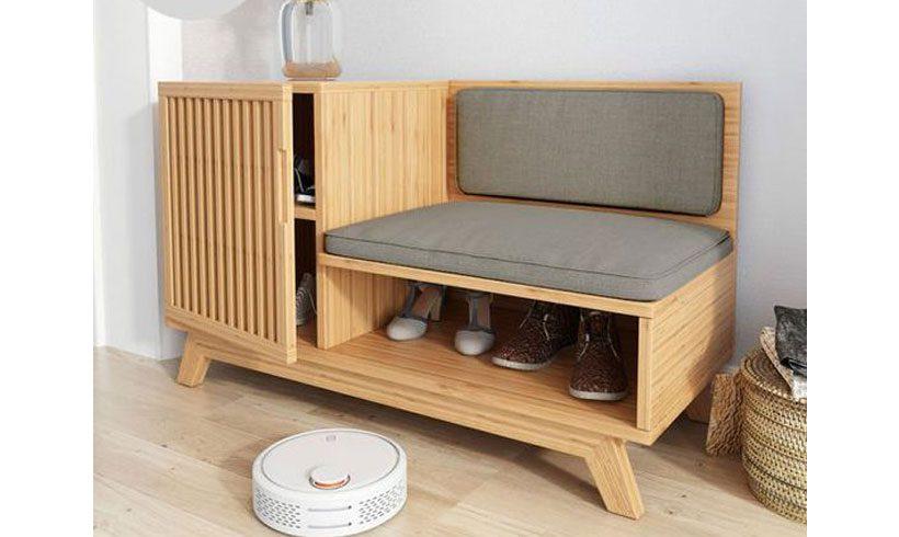 مدل جاکفشی چوبی شیک