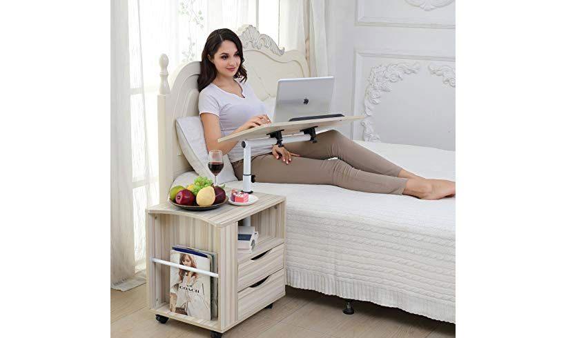 میز لپ تاپ برای حالت خوابیده