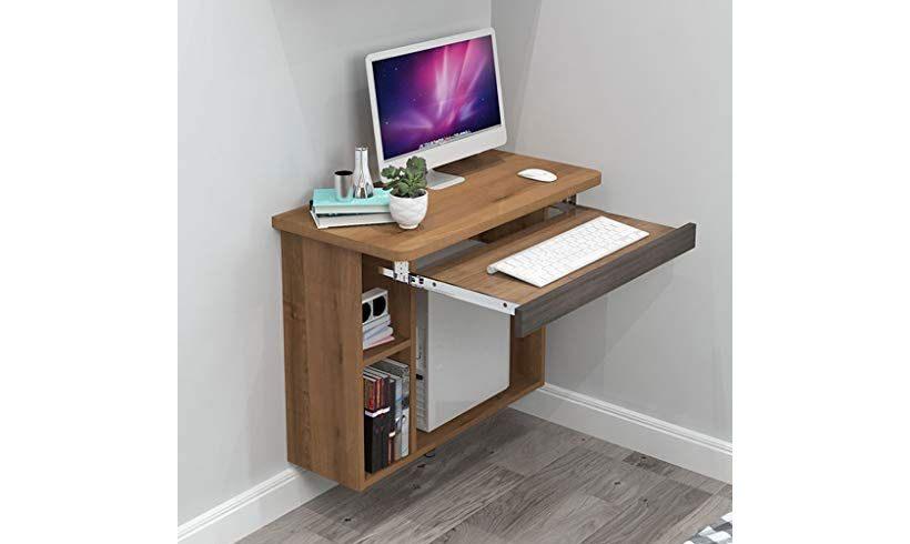 میز چوبی دیواری لپ تاپ