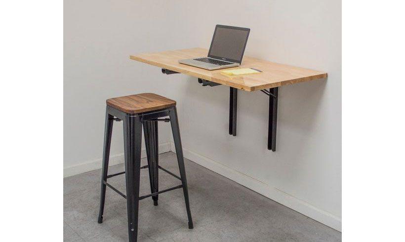 میز ساده دیواری لپ تاپ