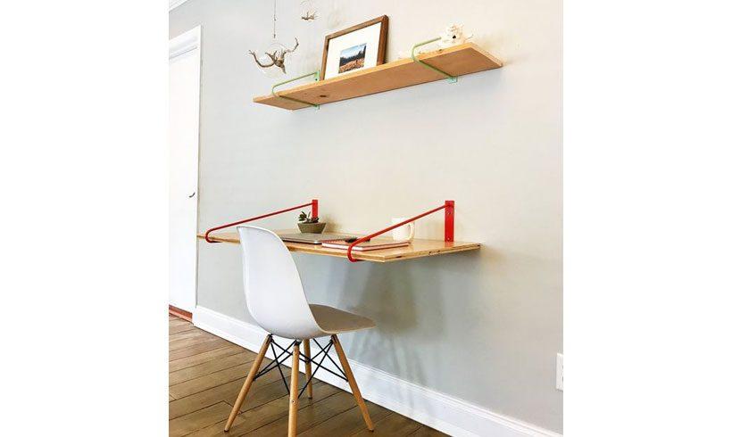 میز دیواری لپ تاپ