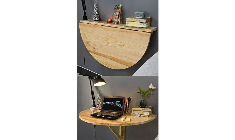 میز دیواری تاشو لپ تاپ