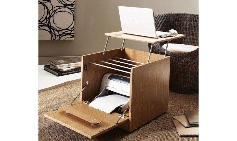 مدل میز تاشو چوبی لپ تاپ