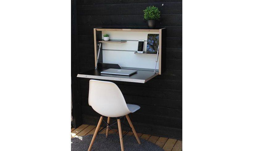 میز لپ تاپ تاشو دیواری