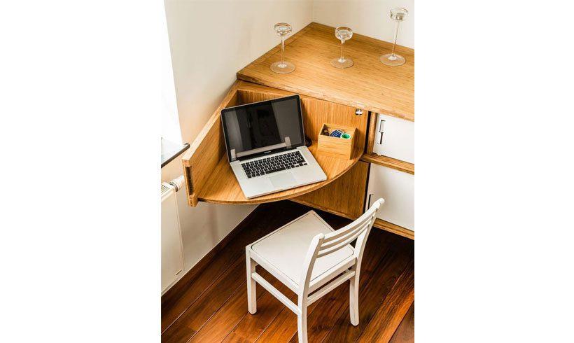 میز کم جا لپ تاپ