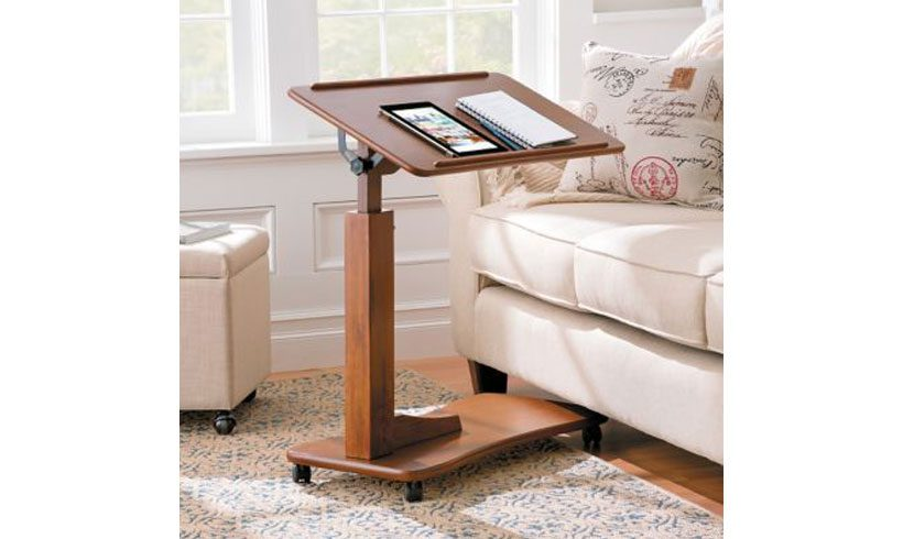 مدل میز چوبی روتختی برای لپ تاپ