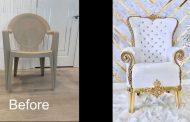 ویدئو آموزش ساخت صندلی کلاسیک با صندلی پلاستیکی
