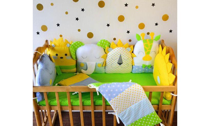 مدل کوسن گارد تخت نوزاد