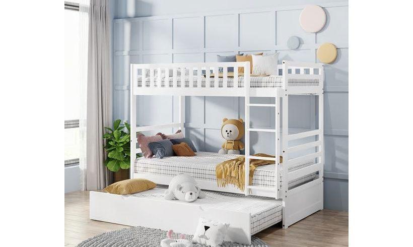 مدل تخت کودک دختر دو طبقه
