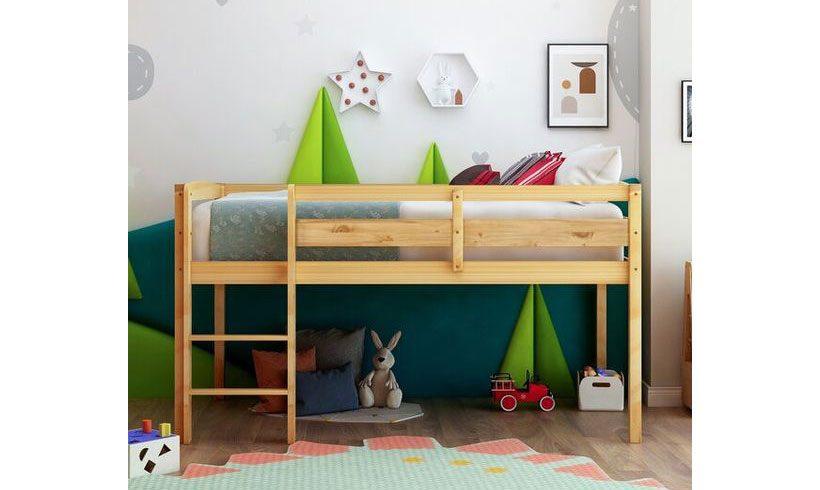 مدل تخت کودک ساده دوطبقه