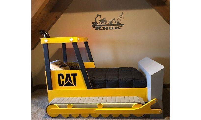 مدل تخت خواب کودک پسر طرح ماشین