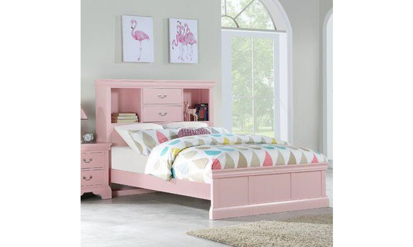 مدل تخت یکطبقه نوجوان دخترانه