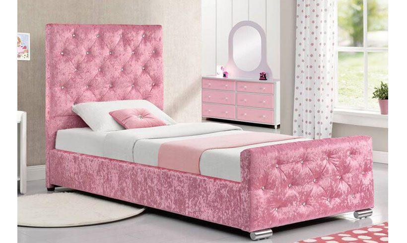 مدل تخت خواب دخترانه شیک