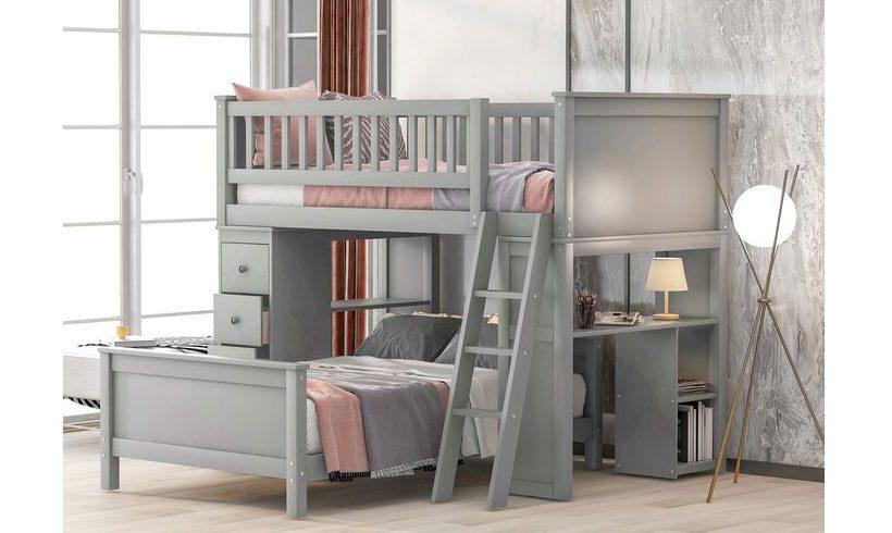 مدل تخت خواب دوطبقه نوجوان پسر