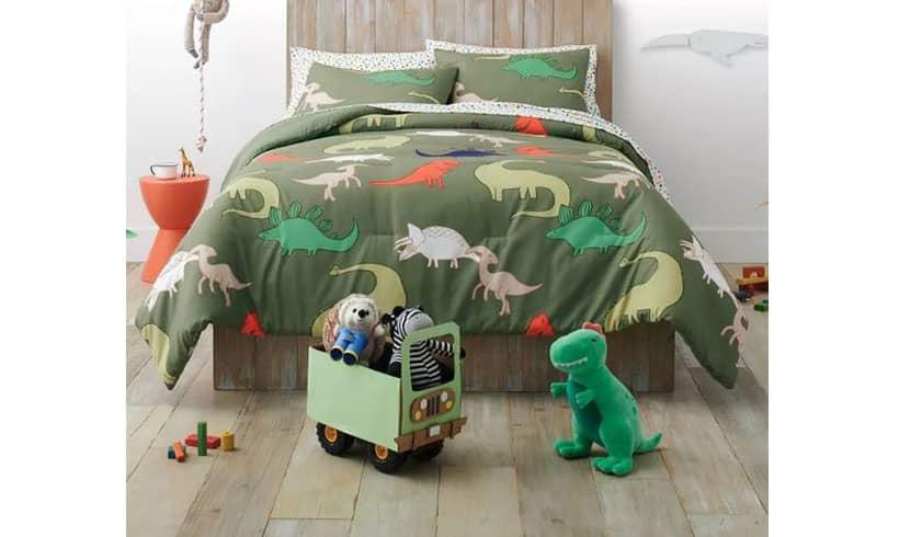 مدل رو تختی برای پسر نوجوان دایناسور