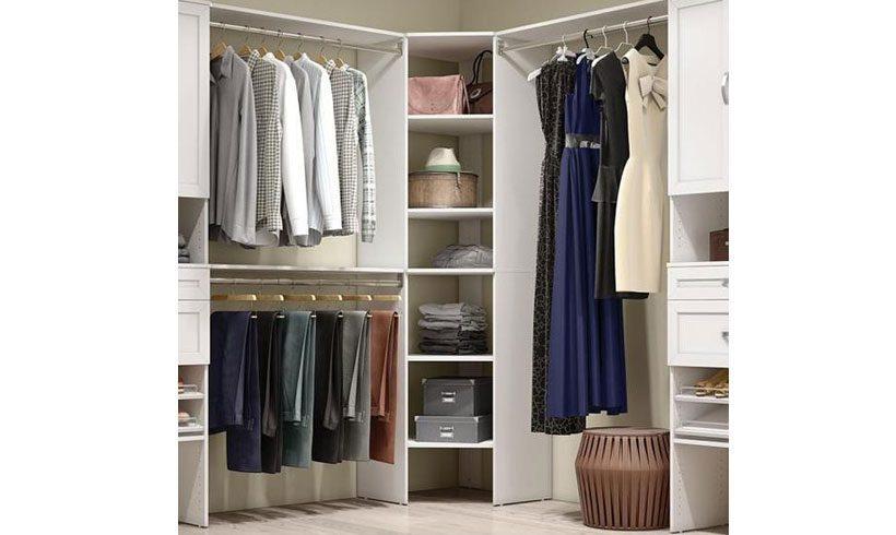 مدل طراحی اتاق لباس کوچک