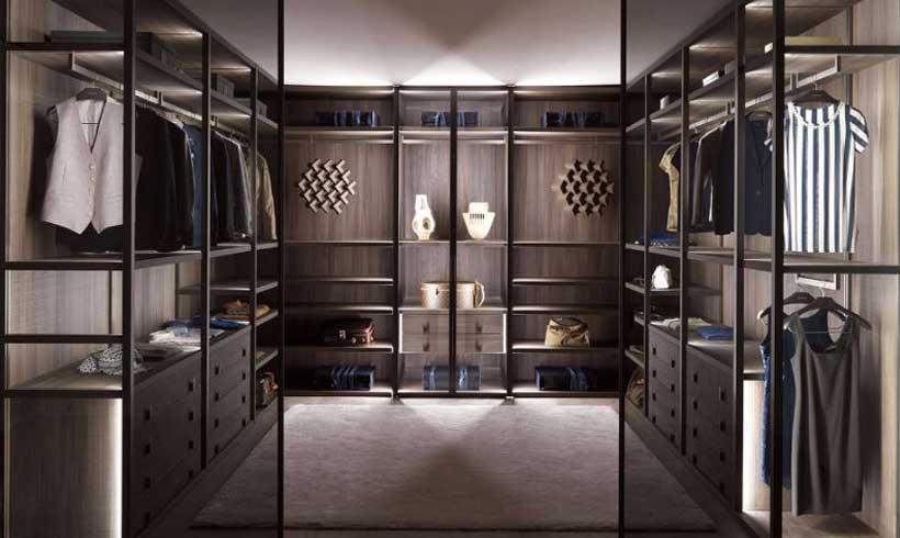 مدل اتاق لباس لاکچری