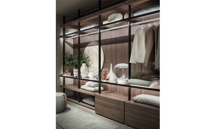 مدل طراحی اتاق لباس در خانه 2021
