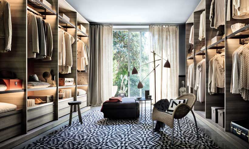 مدل طراحی اتاق لباس 2021