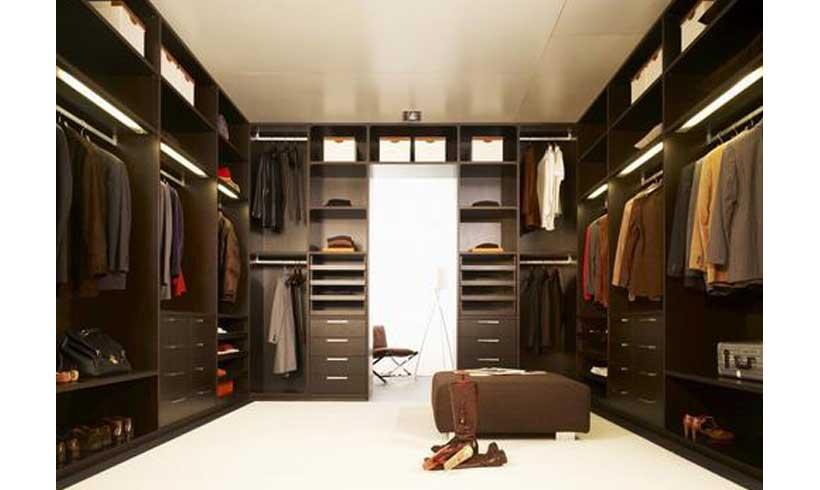 مدل اتاق لباس مدرن